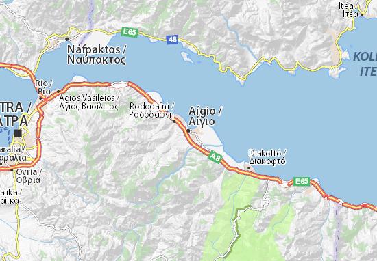 Mappe-Piantine Aígio