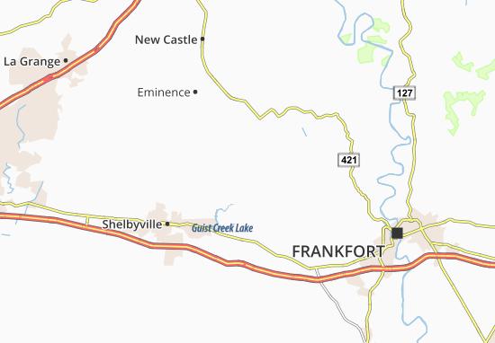 Christianburg Map