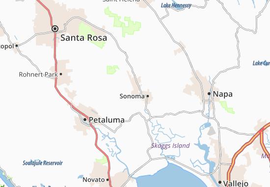 El Verano Map