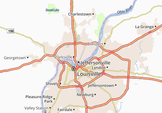 Mapas-Planos Jeffersonville