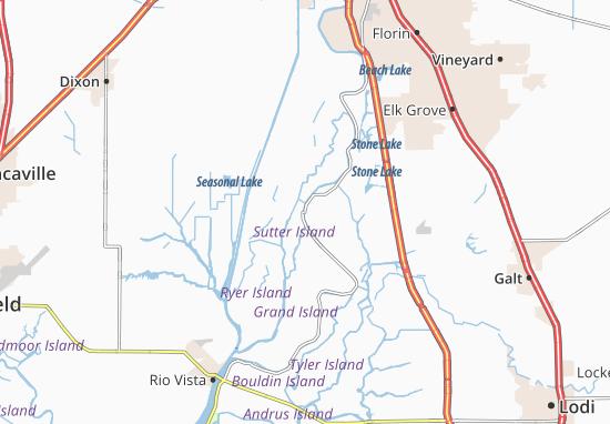 Paintersville Map