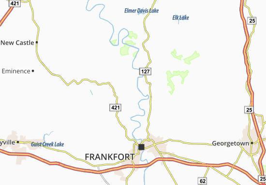 Carte-Plan Ottusville