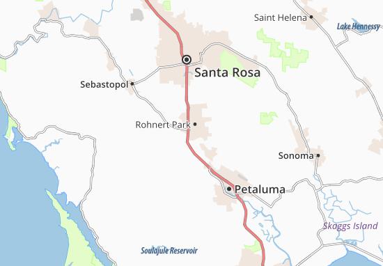 Mapa Cotati
