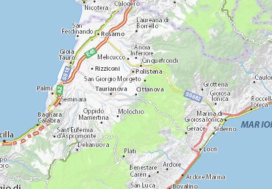 Cittanova Map