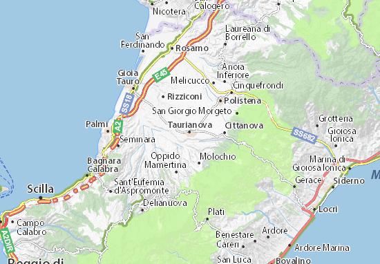Taurianova Map