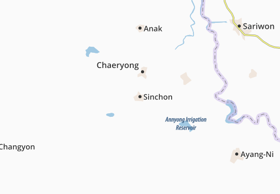 Sinchon Map