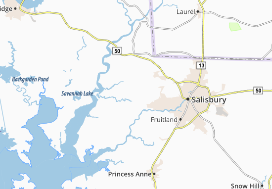 Quantico Map