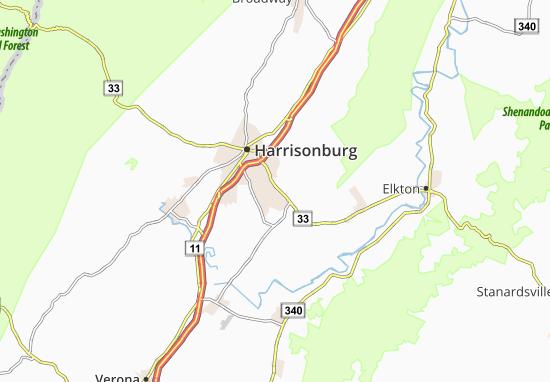 Massanetta Springs Map