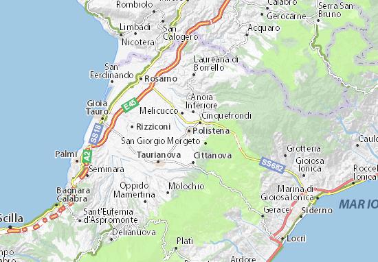 Mapas-Planos Polistena