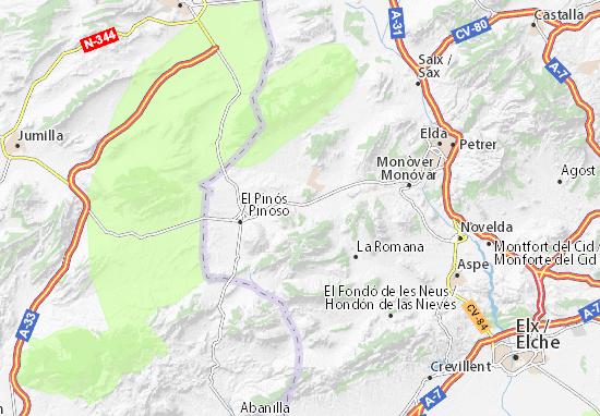 Mapas-Planos El Xilornet