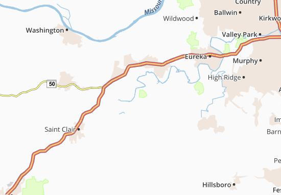 Robertsville Map