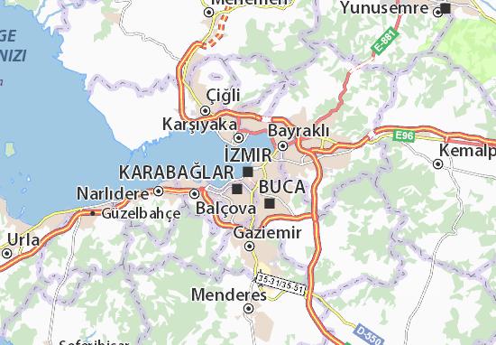 İzmir Map
