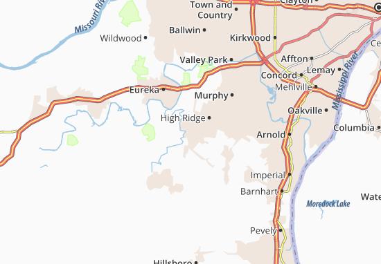 Byrnes Mill Map