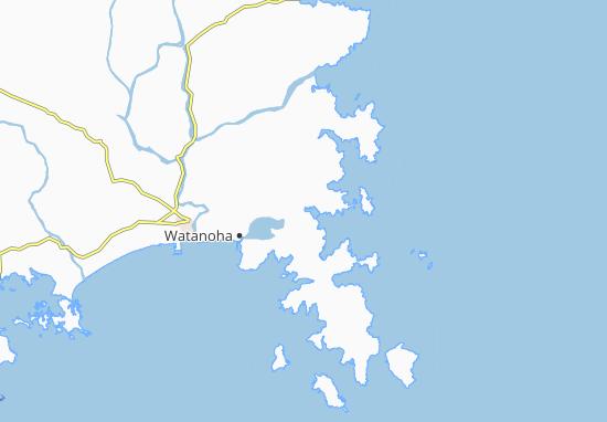 Carte-Plan Onagawa