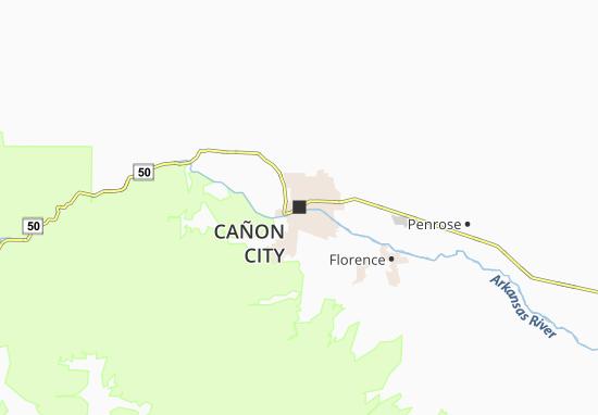 Cañon City Map