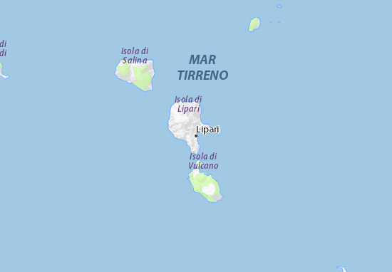 Lipari Map