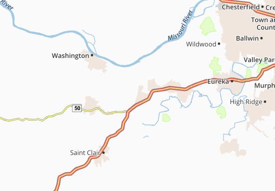 Villa Ridge Map