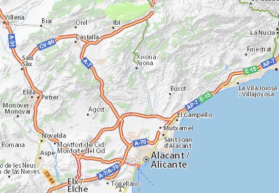 Mapas-Planos Montnegre