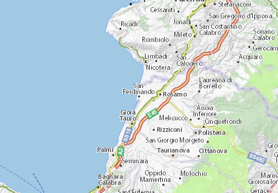 San Ferdinando Map