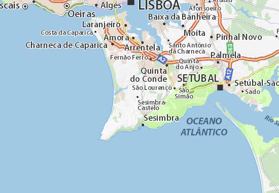 Zambujal de Cima Map