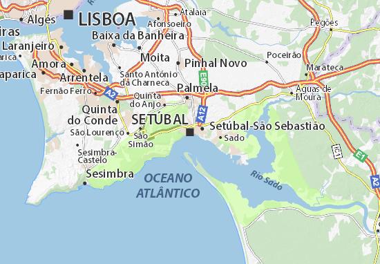 Mapa Plano Setúbal