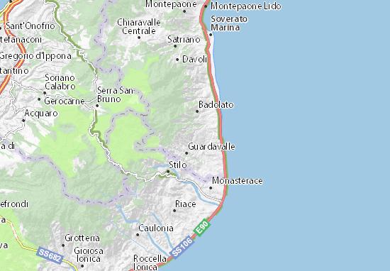Mapas-Planos Santa Caterina dello Ionio