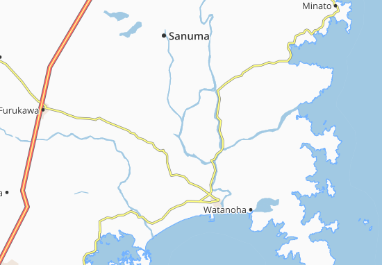 Kaart Plattegrond Kandoru