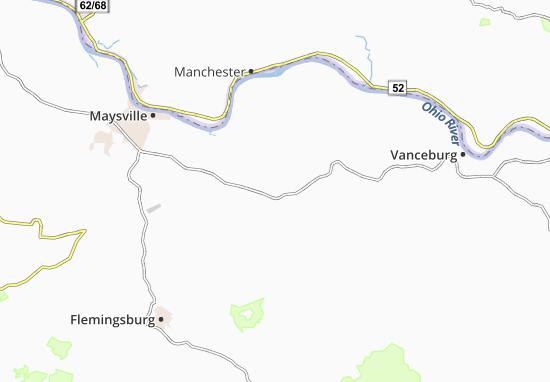 Tollesboro Map