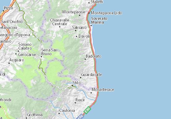 Mappe-Piantine Badolato