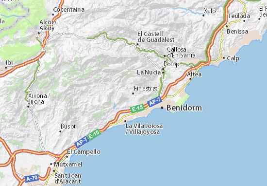 Mapas-Planos Finestrat
