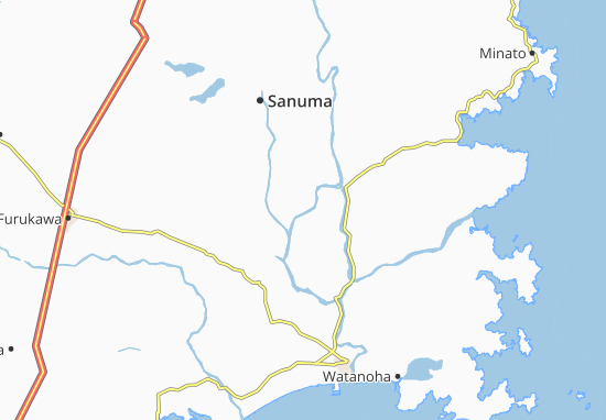 Kaart Plattegrond Akozu