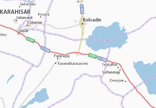 Çay Map