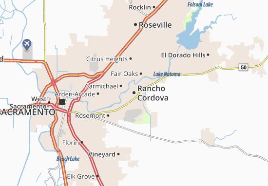 Rancho Cordova Map
