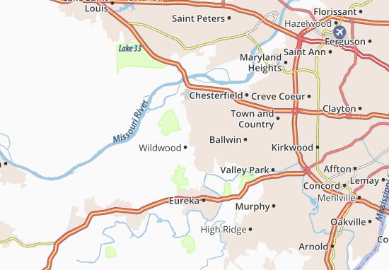 Wildwood Map