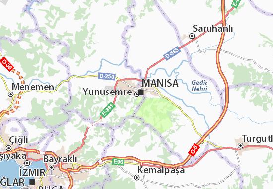 Mapa Plano Yunusemre