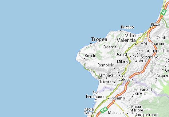 Ricadi Map