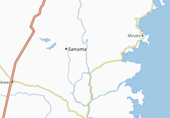 Toyoma Map