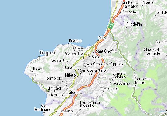 Vibo Valentia Map Detailed Maps For The City Of Vibo Valentia