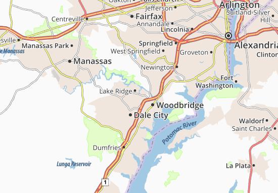 Lake Ridge Map