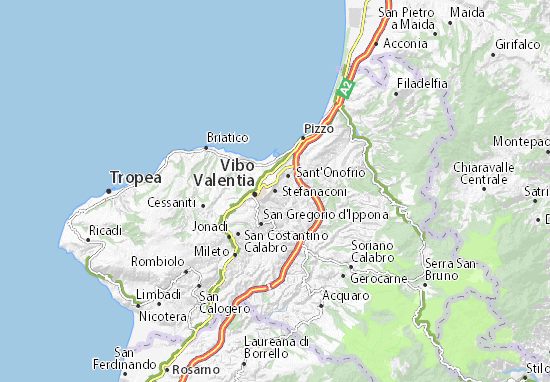 Mappe-Piantine Stefanaconi