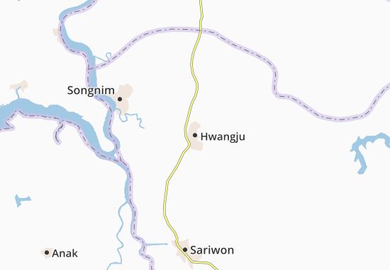 Hwangju Map