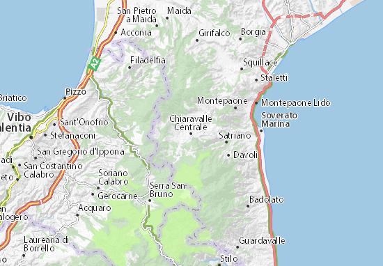 Mappe-Piantine Chiaravalle Centrale