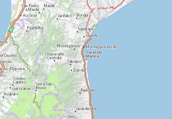 Mappe-Piantine Soverato Marina