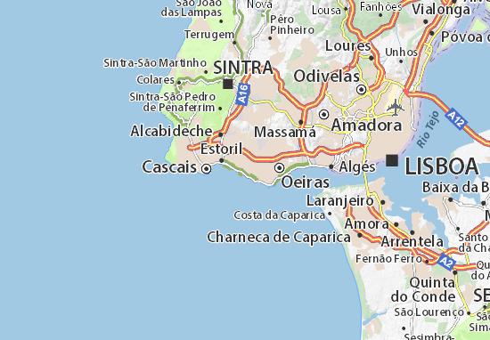 São Joao de Estoril Map