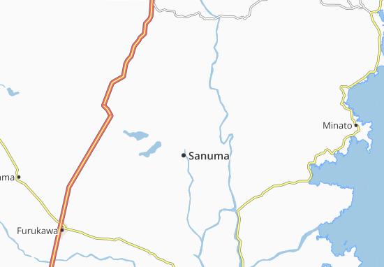 Kaart Plattegrond Ishinomori