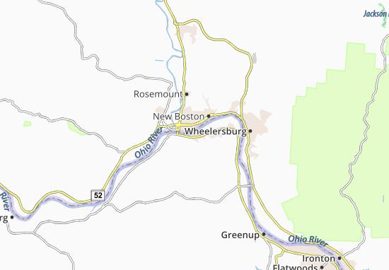 Map Of South Shore Michelin South Shore Map Viamichelin
