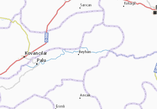 Carte-Plan Beyhan