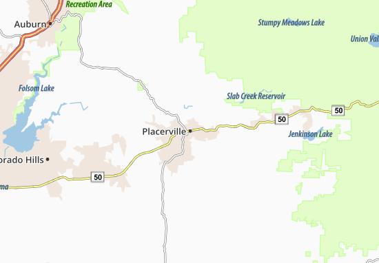 Placerville Map