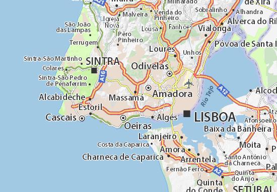 Mapa Plano Queluz de Baixo