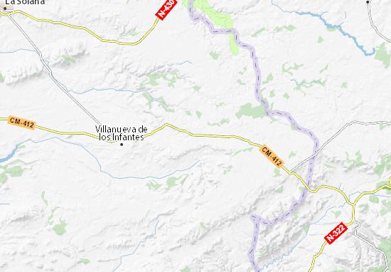 Kaart Plattegrond Villahermosa